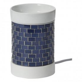 Brûleur à tartelette electrique glitter glow dark blue