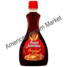 Aunt jemina original syrup pancakes
