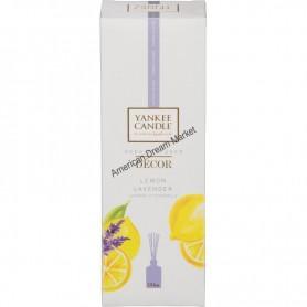 Reed diffuser décor lemon lavender