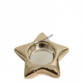 Photophore lumignon star gold
