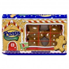 Peeps marshmallows gingerbread