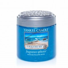 Fragrance spheres turquoise sky
