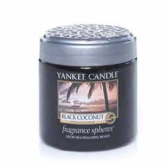 Fragrance spheres black coconut