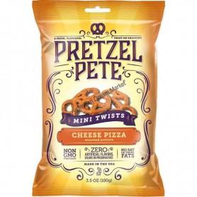 Pretzel pete cheese pizza