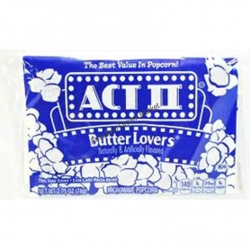 Act II pop corn butter