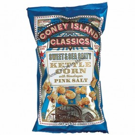Coney island kettle corn smokin BAR-B-Q
