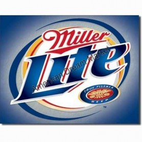 Miller lite brushed met