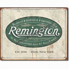 Remington weathered logo