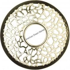 Illumalid matrix brushed silver