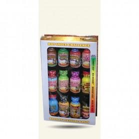 Hot sauce challenge book
