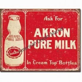 Akron pure milk