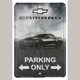 Chevrolet racing fan parking