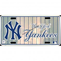 License plate yankees