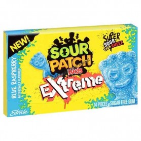 Sour patch kids stride gum red berry