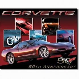 Corvette 50 th car