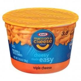 Kraft macaroni and cheese cup