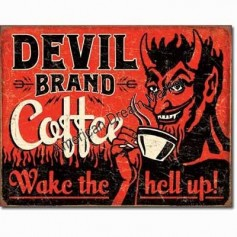 Devil brand coffee