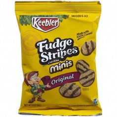 Keeber fudge stripes cookie minis