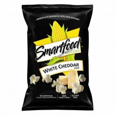 Smartfood pop corn white cheddar