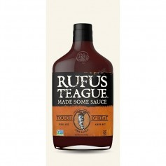 Rufus teague touch o heat BBQ sauce