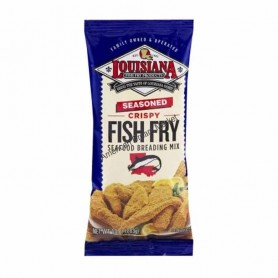 Louisiana fish fry crispy