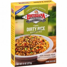 Louisiana cajun dirty rice entrée mix