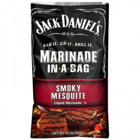 Jack daniel's marinade in a bag smoky mesquite