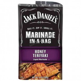 Jack daniel's marinade in a bag honey terriyaki