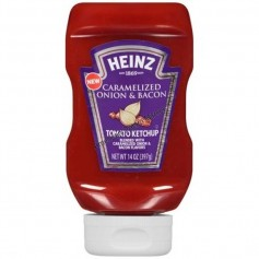 Heinz caramelized onion and bacon ketchup