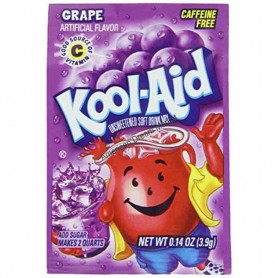 Kool Aid grape sachet