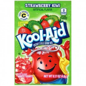 Kool Aid strawberry kiwi sachet