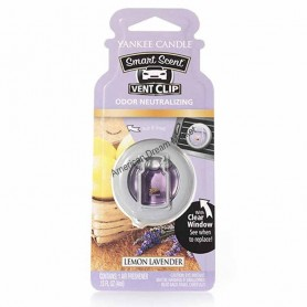 Car vent clip lemon lavender