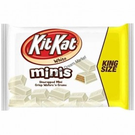 KIT KAT WHITE CHOCOLATE minis king size