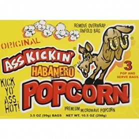 Ass kickin habanero pop corn