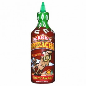 Ass kickin shiracha hot sauce