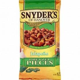Snyder's of hanover pretzel pieces jalapeno GM