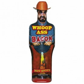 Ass kickin whoop bacon hot sauce