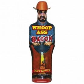Ass kickin whoop bacon hot sauce