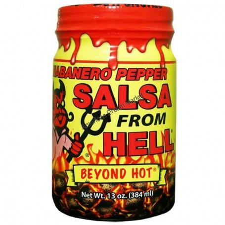 Ass kickin habanero salsa from hell