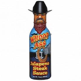 Ass kickin whoop ass jalapeno steak sauce