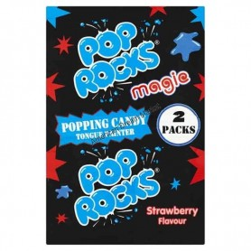 Pop Rocks magie strawberry popping candy