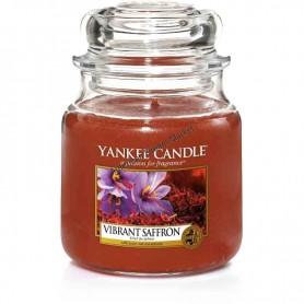 Moyenne jarre vibrant saffron
