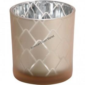 Photophore modern pinecone beige