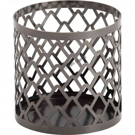 Support jarre MM/GM metal modern pinecone