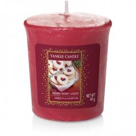 Votive merry berry linzer