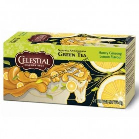 Celestial green tea honey ginseng lemon