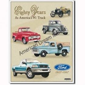 Ford trucks 80 years tribute
