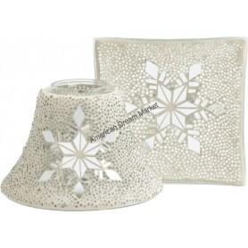 Abat jour MM/GM twinkling snowflake