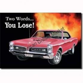 GTO you lose
