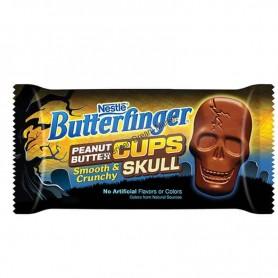 Butterfinger peanut butter cups Skulls